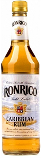 Ronrico Rum Gold 750ml - Case of 12